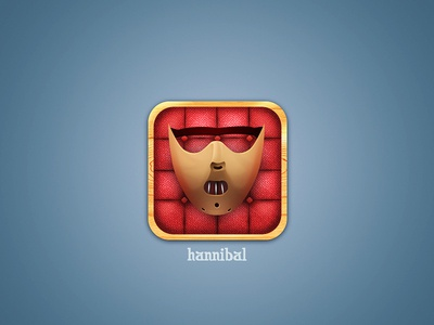 Hannibal icon hannibal icon mask