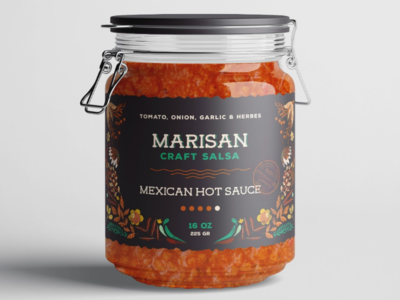 Hot Sauce Label Design