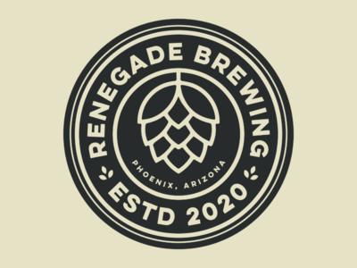 Renegade Brewing Logo Design
