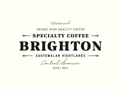 Brighton 2 retro vintage logo vintage font vintage badge typography logo retro design illustration design branding