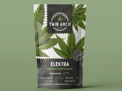 Twin Arch Farm Packing Design