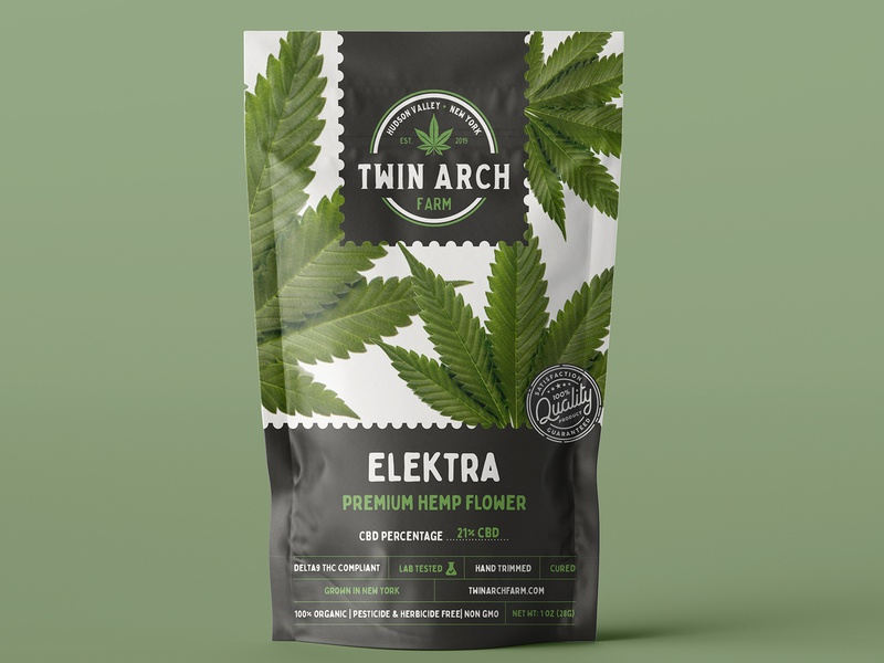 Twin Arch Farm Packing Design label packaging hemp logo packing design labeldesign hemp label packing vintage badge vintage font vintage logo retro design branding
