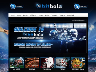 Sbobet Designs Themes Templates And Downloadable Graphic Elements On Dribbble