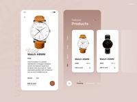 Watch store - UI/UX