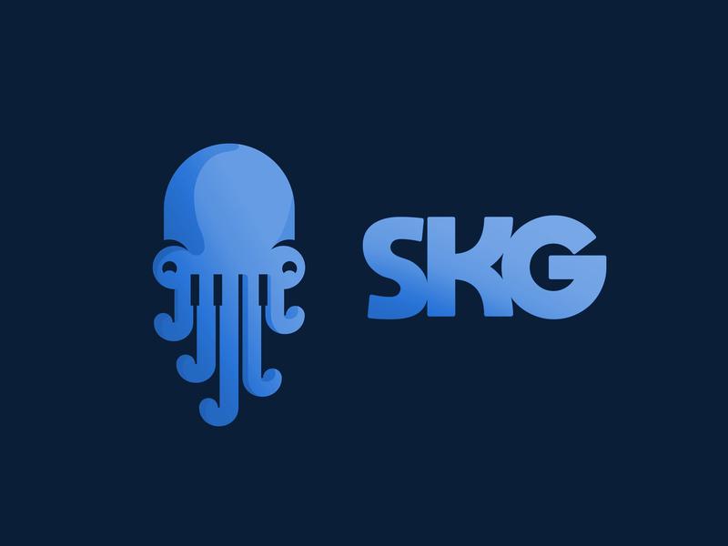skg logo by kémi dribbble dribbble