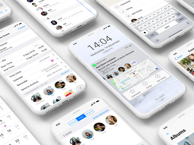 A new EVENT feature for WhatsApp ui  ux design new feature event ios interaction design whatsapp