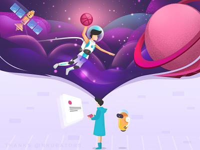 Hi Dribbble! flat first design dribbble debut debut shot website design vector logo ux illustration ui