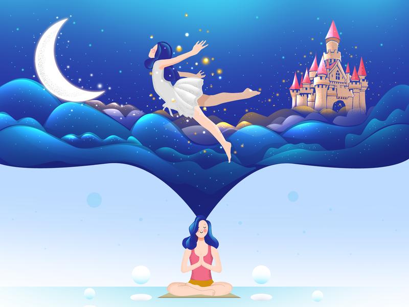 First Yoga Experience website yoga yoga pose identity illustrator minimal web icon clean character branding art app vector ui ux logo illustration flat design