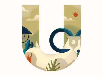 U is for Urial