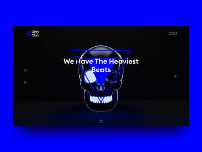 Dirty Club website a beat making company