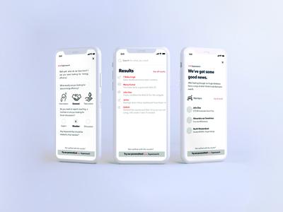 Mobile UI mockup overview minimalist mobile app design app mobile ui responsive design ux ui design