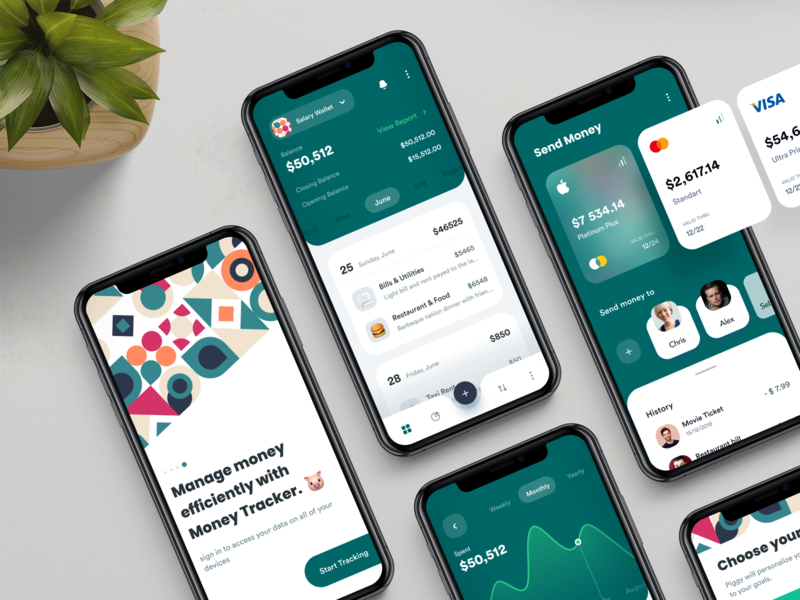 Wallet Finance App clean ui clean typography ux ui minimal app app design app-ui uiux uidesign figma-design applpication-design app-design ux-design ui-design economy-app money-app finance-app wallet-app
