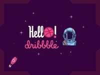 Dribbble 1st shot