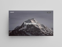concept for patagonia travel website