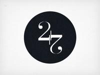 24 7 - logo concept