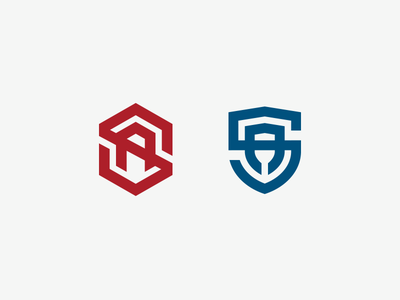 SA monogram sa monogram logo illustrator
