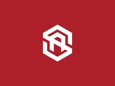 SA monogram | Shield 2 sa monogram logo illustrator
