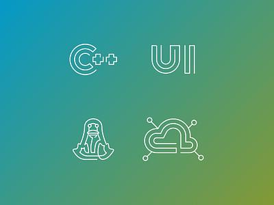 Midosoft Icons icon icons c linux ui vector illustrator