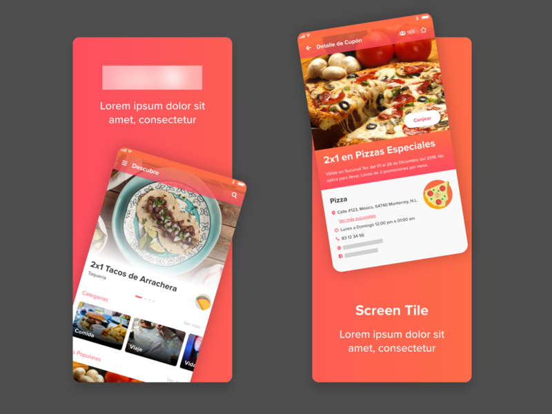 Coupons By Ana Torres Dribbble Dribbble
