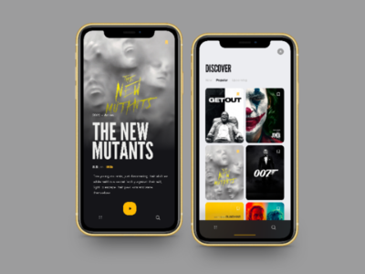 Movies App UI Design