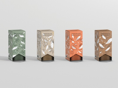 Chocolate Aristocrat Tea Packaging - Tea Box