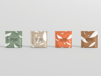 Chocolate Aristocrat Tea Packaging - Tea Bag