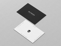shut The FuCup Cold Brew Coffee Packaging - Business Card