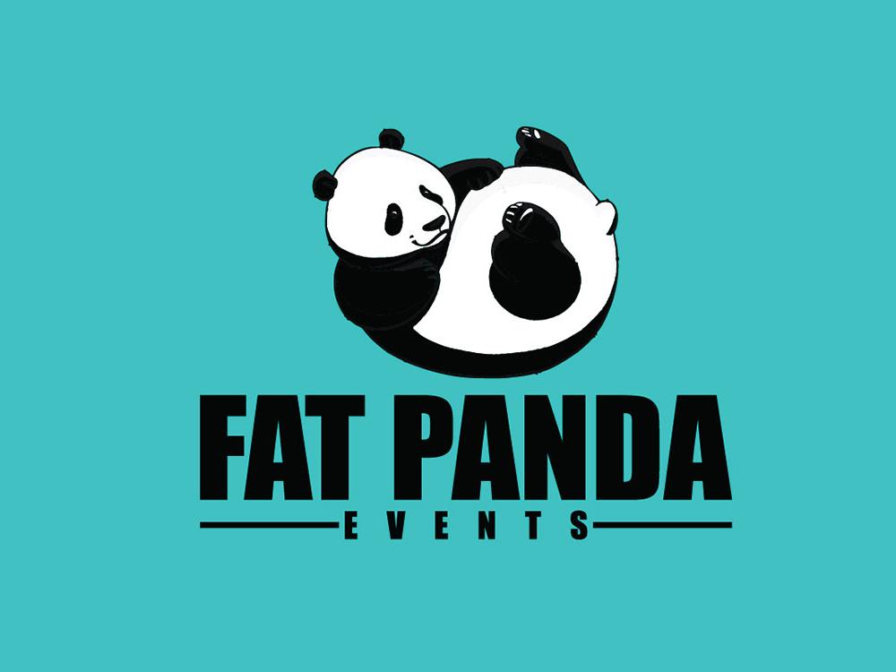 Fat Panda Logo design brand identity logo logo design challenge minimal branding minimal logo graphic design creative logo logo design
