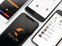 NightLife Preview App Design