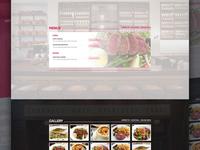 Restaurant landing page 2