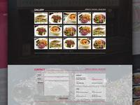 Restaurant landing page 3