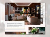 Interior design site concept