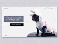 Puppy Costumes Landing Page