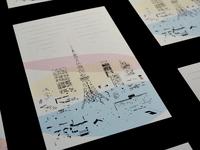 The Light of Tokyo - Postcard