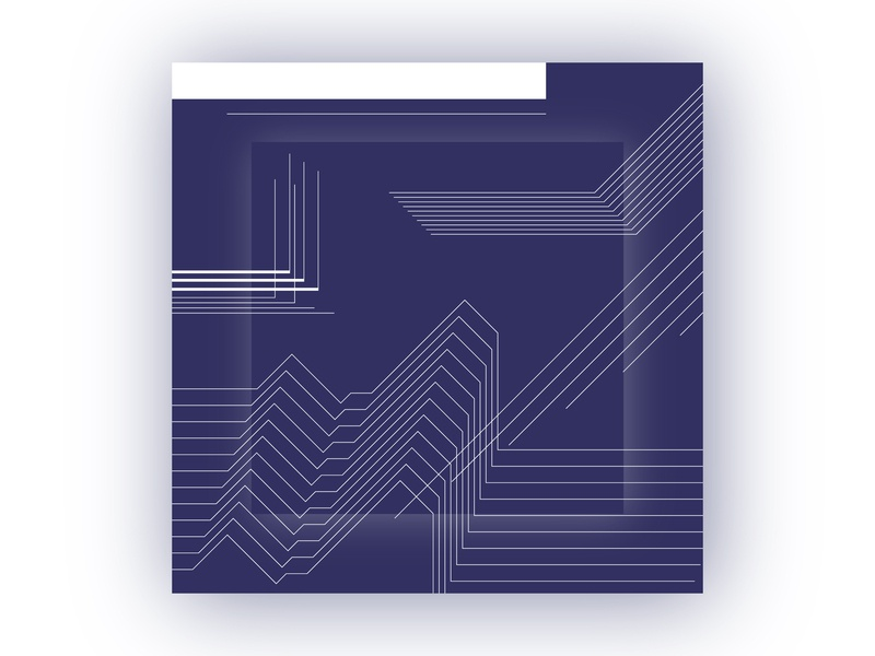 Design for Furoshiki (Traditional Japanese wrapping cloth) navy flat modernism linestyle furoshiki design branding japanese clothes print geometry wrapping