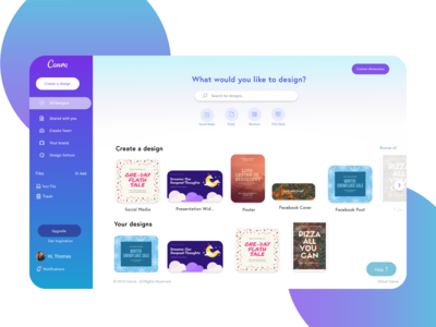 Canva - Redesign