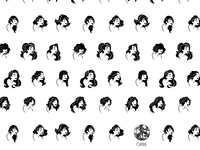 Pattern for Oribe