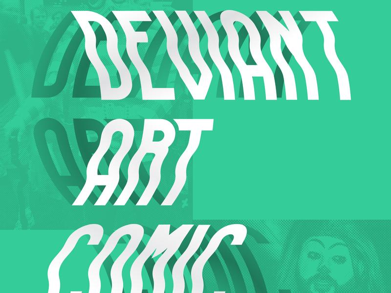 Type Study type typography gradient type gradient deviantart poster design poster art