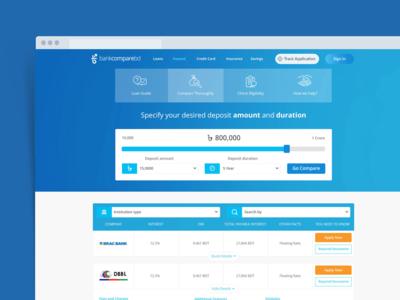Web Application Interface