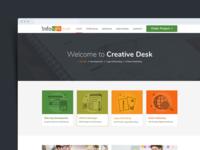 Web Design for Creative Agency