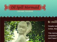 Oil Spill Mermaid Site WIP