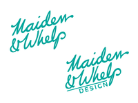Maiden & Whelp Logo Update