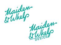 Maiden & Whelp Logo Update