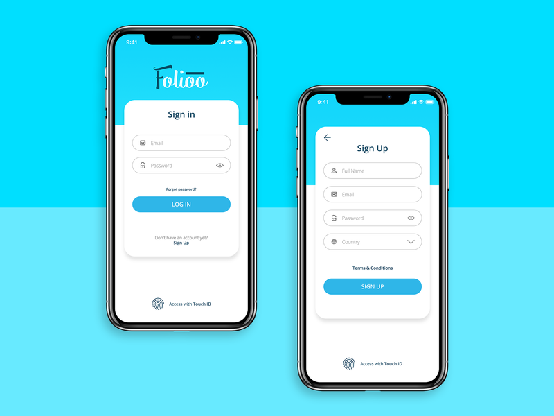 Daily Ui 001 - Signin / Sign Up daily ui 001 blue colorful app logo design ux ui sign up sign in newbie daily ui daily 100 challenge daily 100