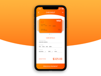 Daily Ui 002 - Credit Card Checkout