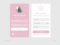 Daily UI #001: Sign Up Screen