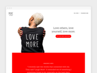 Love More Landing Page