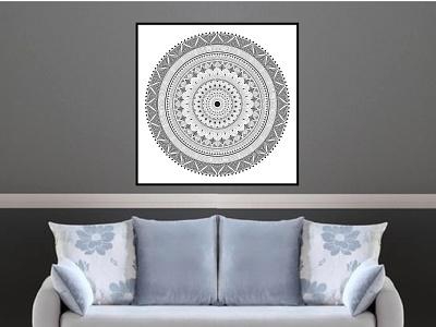 Mandala Wall Hanging illustration mandala