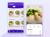 Littlebits: Lunch Box App 2019 trends food design app lunchbox clean design trending minimal clean