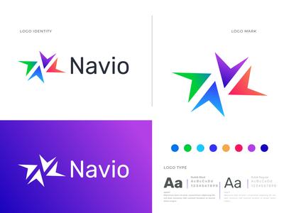 Navio Logo Design For Money Transfer Company